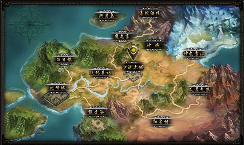 49you战天-全游戏世界地图